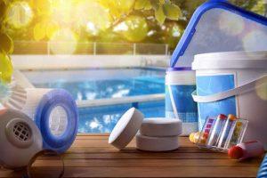 🔵 Desinfección de la piscina con oxígeno activo